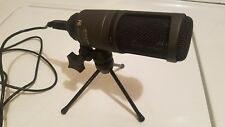 """Audio Technica AT2020 USB Cardioid Condenser Microphone w/6"""" Nady Pop Filter"""