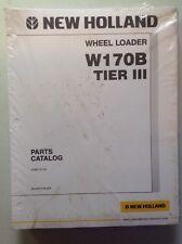 New Holland W170B TIER 3 WHEEL LOADERParts Catalog