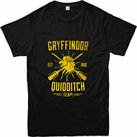 Harry Potter T-Shirt, Quidditch Team Gryffindor T-Shirt, Inspired Design Top