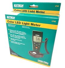 Extech LT45 Colour LED Light Meter with Light Sensor and Hard Carry Case