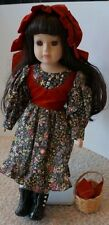 Little Red Riding Hood Porcelain Doll