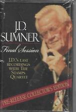 """J.D. SUMNER & THE STAMPS....""""FINAL SESSION"""".....BRAND NEW SEALED GOSPEL CASSETTE"""