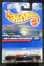 2000  Hot Wheels  1964 Lincoln Continental   Card #237   HW-11