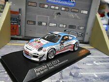 PORSCHE 911 997 GT3 R 24h Spa 2011 Gordon #123 Blancpain Thi Minichamps SP 1:43