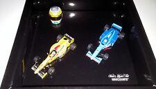Minichamps 431000004 1/43 Giancarlo Fisichella Jordan 197 Benetton B198 + Helmet