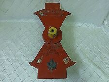 Wood Foundry Mold Fire Hydrant Maple Leaf Pattern Steampunk Industrial