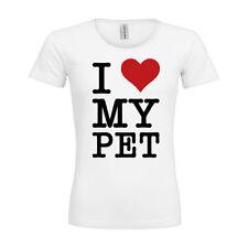 Damen-T-Shirts mit Motiv für Katzen S