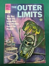 The Outer Limits #18 (Oct 1969, Dell) VF **REPRINTS #2, TV SHOW**  CGC IT