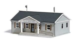 Busch 9731 NEW OO (1:76) / HO (1:87) US Police Station Kit