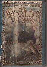 1911 World's Work December- Woman's Suffrage; Woodrow Wilson; Tripoli Falls;