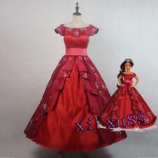 2017 NEW Cartoon Elena of Avalor Ccosplay Costume Elena Princess Dress3