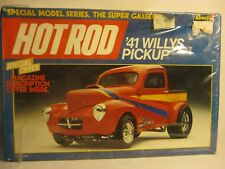 REVELL WILLYS PICKUP TRUCK HOTROD 1/24 OPENED OR SEALED SOLD AS IS AND AS USED