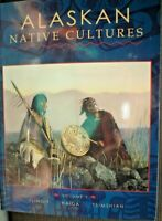 B BOOKLET 64 PAGES ALASKAN NATIVE CULTURES FULLY ILLUSTRATED VERY GOOD