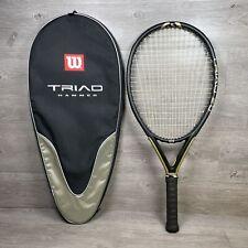Wilson Triad Hammer 2.0 Oversize 125 Head 4 3/8 grip Tennis Racquet & Case