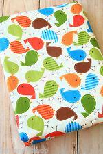 Tweety BIRDS fabric 1/4yd zakka cartoon print Cotton fabric childrens textile