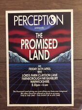 Preception Rave Flyer