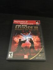 Playstation 2 Star Wars Episode 3 Revenge Of The Sith (Complete)