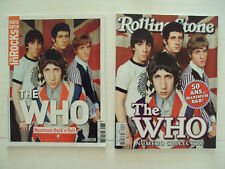 WHO Daltrey Townshend Inrocks Rolling Stone French magazines spécial 98p 2015
