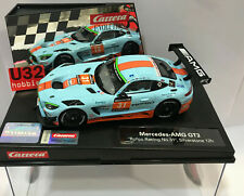 Carrera evolution 27593 Mercedes AMG GT3 #31 Rofgo Racing 12H Silverstone Gulf