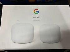 Google Nest Wifi Router and Point (2 pack) ... FREE SHIPPING ... K2
