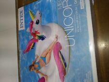 Intex Giant Inflatable Magical Mega Unicorn Island Ride On Swimming Pool Float