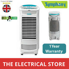 Evaporative Air Cooler Symphony SILVER  Remote With Timer One Year Warranty