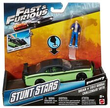 Fast & Furious F7 Stunt Stars Brian and 2011 Dodge Challenger  SRT8 FCG32 NEW