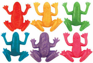 12 Stretchy Frogs - Pinata Toy Loot/Party Bag Fillers Childrens/Kids