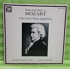 Mozart The Four Flute Quartets - Richard Adeney Melos Vinyl Record MHS 4489
