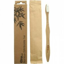Bambus Zahnbürste - 18,5 cm - Elina Med - Bürste - Vegan und Nachhaltig