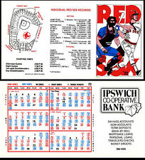 lot of 50  - 1978 Boston Red Sox pocket Schedule -  99 win season Jim Rice MVP