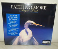2 CD FAITH NO MORE - ANGEL DUST - DELUXE EDITION - NUOVO NEW