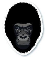 "GORILLA FACE STICKER, HAMBRE GORILLA FACE STICKER,  3.375""x2.5"" (G-217)"