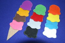 """""""Ice-Cream Scoops Counting"""" children story  felt/ flannel board set"""