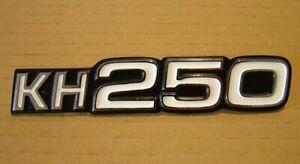 KH250 SIDE COVER BADGE for KAWASAKI KH250 A5, B1, B2, B3 1976-1978 Emblem KS26