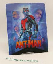 ANT-MAN antman - Lenticular 3D Flip Magnet Cover FOR bluray steelbook