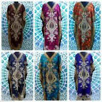 Wholesale Lot 10 Pcs Long Beach Maxi Caftan One Size Kaftan Evening Wear