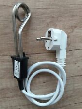 Travel Heater Element Mini Boiler Hot Water Coffee Immersion 500W 230V Adapter