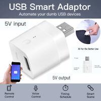 SONOFF 5V USB Smart Adaptor WiFi USB Power Adaptor Switch APP Remote-Control