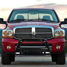 "Fit 09-16 Dodge Ram 1500 Truck Black 3"" Brush Bull Bar Push Bumper Grille Guard"