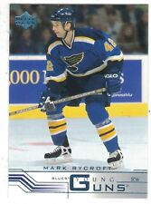 2001-02 Upper Deck Young Guns #439 Mark Rycroft St. Louis Blues NHL Hockey