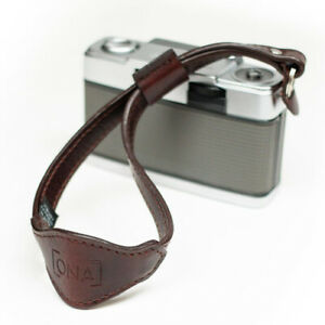 ONA Kyoto Leather Handcrafted Wrist Strap (Root Beer)