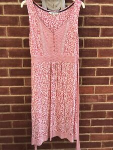 Fatface Pink Dress Size 14