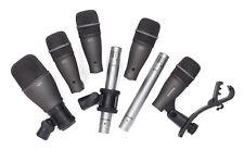 Samson DK707 Dynamic Microphone - 7 Piece