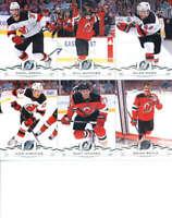 2018-19 Upper Deck Hockey Complete New Jersey Devils Team Set of 13 Cards