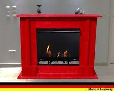Bio Ethanol und Gelkamin Kamin Fireplace Cheminee Caminetti  Rafael Premium Rot