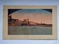 VERONA muraglione Ponte Pietra vecchia cartolina