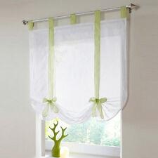 Sommer Fenster Raffrollo Gardinen Vorhang Raffgardine Lässig Voile Wohnen Neu
