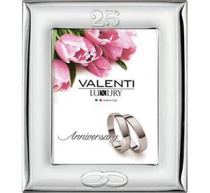 Cornice Valenti Nozze D'Argento 25° Anniversario Matrimonio Foto 9*13 52008/3L
