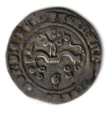 ESPAÑA 1/2 real plata REYES CATOLICOS ceca de Granada